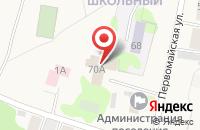 Схема проезда до компании Пожарная часть №154 в Нижних Вязовых