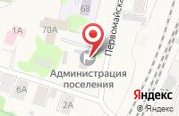 Схема проезда до компании Мировые судьи в Нижних Вязовых