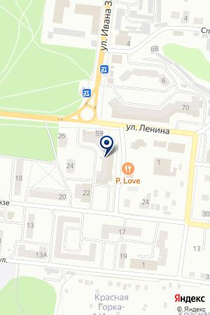 АВТОСАЛОН АПЕЛЬСИН-АВТО на карте Зеленодольска