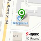 Местоположение компании 100 диванов