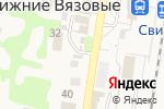 Схема проезда до компании Магазин женской одежды в Нижних Вязовых