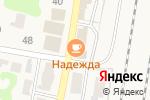 Схема проезда до компании Солнышко в Нижних Вязовых