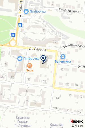 ЗЕЛЕНОДОЛЬСКИЙ ДОПОЛНИТЕЛЬНЫЙ ОФИС №1 АКЦИОНЕРНЫЙ ИПОТЕЧНЫЙ БАНК ОТЕКА-ИНВЕСТ на карте Зеленодольска