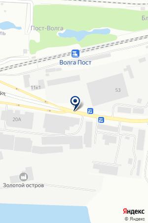 ПТФ КАЗАНЬ-МЕТАЛЛ на карте Зеленодольска