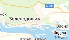 Гостиницы города Зеленодольск на карте