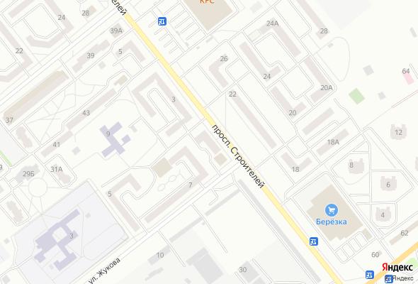 жилой комплекс пр. Строителей