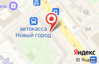 Схема проезда до компании Золотой Дракон в Ульяновске