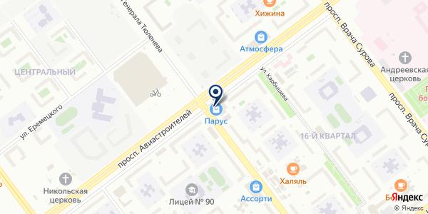 Залоговый Дом-Ломбард на карте Ульяновске
