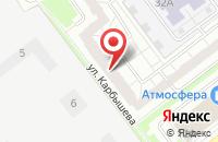 Схема проезда до компании Майстайл в Ульяновске