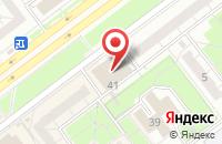 Схема проезда до компании Радуга-Дизайн в Ульяновске