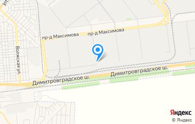 Местоположение на карте пункта техосмотра по адресу г Ульяновск, проезд Инженерный 18-й, д 6
