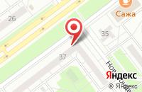 Схема проезда до компании Мозаика в Ульяновске
