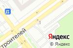 Схема проезда до компании Шиномонтажная мастерская в Ульяновске