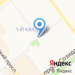 Киоск по продаже продуктов на карте Ульяновска