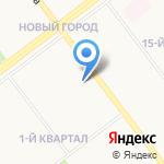 Городская поликлиника №3 на карте Ульяновска