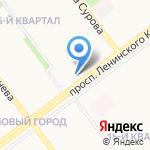 Магазин женской одежды на карте Ульяновска