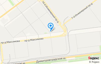 Местоположение на карте пункта техосмотра по адресу г Ульяновск, тер. ГСК Титан 2, д 15