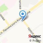 Рябинка на карте Ульяновска