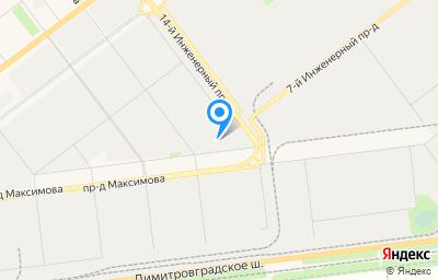 Местоположение на карте пункта техосмотра по адресу г Ульяновск, тер. ГСК Титан 2, СПВЧ-15, бокс 292
