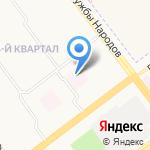 Городская поликлиника №5 на карте Ульяновска