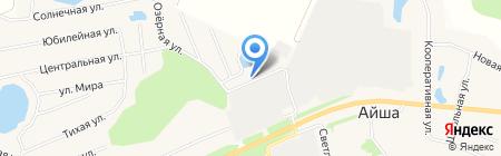 Василёк на карте Айши