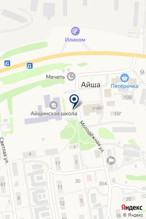 Полянка на карте Айши