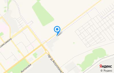 Местоположение на карте пункта техосмотра по адресу г Ульяновск, пр-кт Созидателей, д 1 стр 1