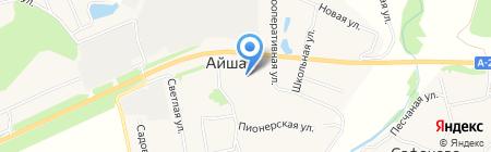 Сбербанк России на карте Айши