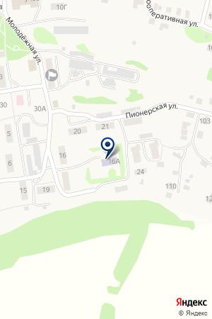 Детский сад №3 на карте Айши