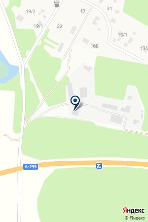 Айшинское участковое лесничество на карте Айши