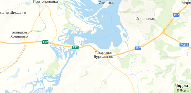 Гаврилково на карте