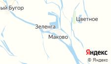 Отели города Маково на карте