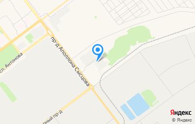 Местоположение на карте пункта техосмотра по адресу г Ульяновск, проезд Инженерный 40-й