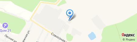 СимКор Кухни на карте Архангельского