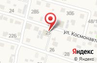 Схема проезда до компании Монтаж-комплект в Васильево