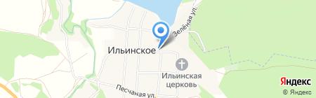 Фельдшерско-акушерский пункт на карте Ильинского