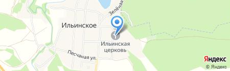 Храм Ильи Пророка на карте Ильинского
