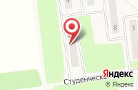 Схема проезда до компании Общежитие в Октябрьском