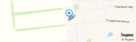 Общежитие на карте Архангельского