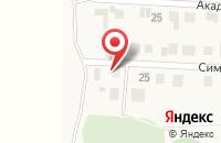 Схема проезда до компании Студия художественной ковки в Октябрьском
