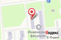 Схема проезда до компании УГСХА в Октябрьском