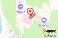 Схема проезда до компании Уникс в Васильево
