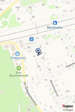 АЗС № 101 на карте Зеленодольска