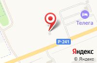 Схема проезда до компании Шинсервис в Мирном