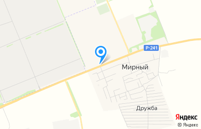 Местоположение на карте пункта техосмотра по адресу Ульяновская обл, Чердаклинский р-н, п Мирный, ул Димитровградская, зд 63А