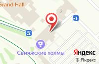 Схема проезда до компании Half Pie в Соболевском