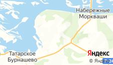 Отели города Иннополис на карте