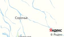 Отели города Верхние Колки на карте