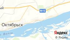 Отели города Октябрьск на карте