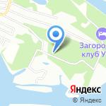 Домик в лесу на карте Октябрьского